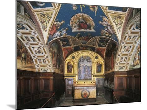 Glimpse of the Audience Hall, Collegio Del Cambio--Mounted Giclee Print
