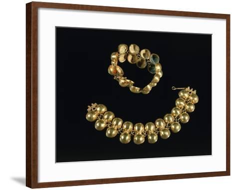 Boscoreale Treasure, Gold Bracelets, from Boscoreale--Framed Art Print