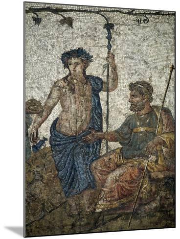 Dionysus Gives Vineyard to King of Attica Ikarios--Mounted Giclee Print