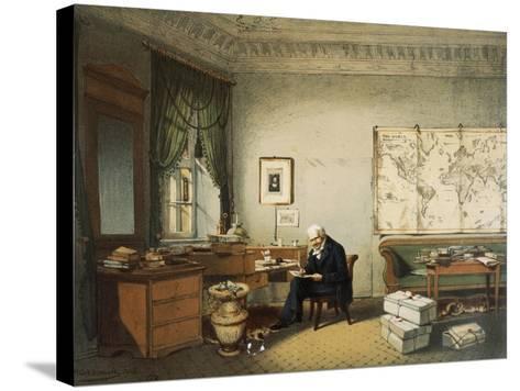 Portrait of Friedrich Heinrich Alexander Von Humboldt--Stretched Canvas Print