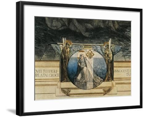 Austria, Vienna, Illustration of Dante Alighieri's Divine Comedy--Framed Art Print