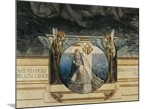 Austria, Vienna, Illustration of Dante Alighieri's Divine Comedy--Mounted Giclee Print