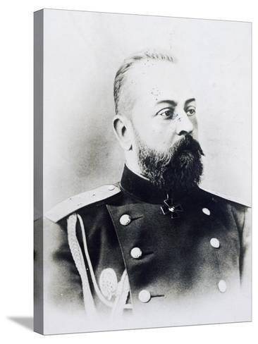 Portrait Photograph of Aleksandr Samsonov Vassilievich--Stretched Canvas Print