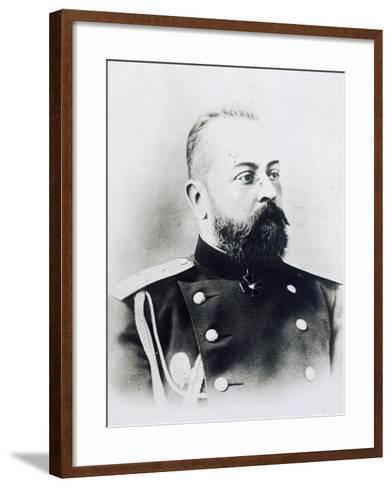 Portrait Photograph of Aleksandr Samsonov Vassilievich--Framed Art Print