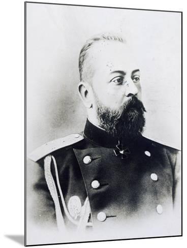 Portrait Photograph of Aleksandr Samsonov Vassilievich--Mounted Giclee Print