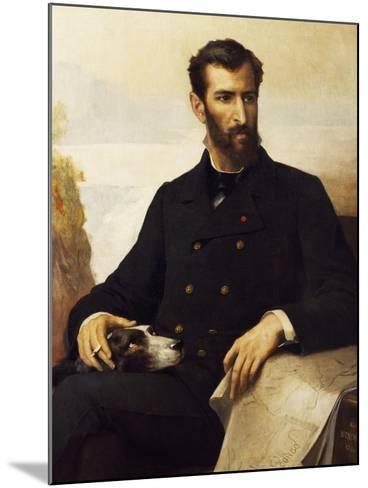 Portrait of Pierre Paul Francois Camille Savorgnan De Brazza--Mounted Giclee Print