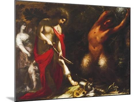Apollo and Marsyas, Ca 1650, Francesco Montelatici known as Cecco Bravo--Mounted Giclee Print