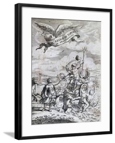 Kingdom of Naples in Perspective, by Giovan Battista Pacichelli--Framed Art Print