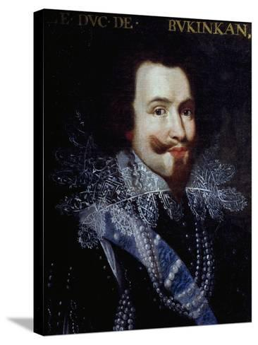 Portrait of George Villiers, First Duke of Buckingham--Stretched Canvas Print