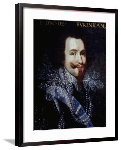 Portrait of George Villiers, First Duke of Buckingham--Framed Art Print