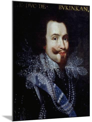 Portrait of George Villiers, First Duke of Buckingham--Mounted Giclee Print