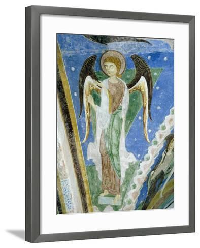 Angel Figure, Fresco, Crypt of Monte Maria Abbey, Near Mals--Framed Art Print