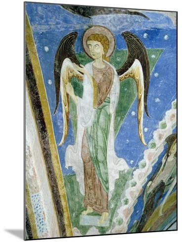 Angel Figure, Fresco, Crypt of Monte Maria Abbey, Near Mals--Mounted Giclee Print