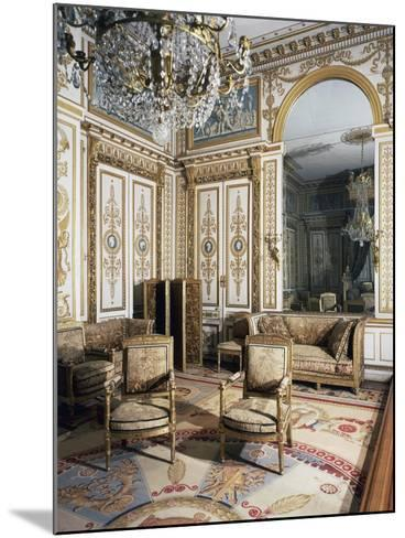 Emperor's Bedroom, Large Apartments of Napoleon I, Palace of Fontainebleau--Mounted Giclee Print