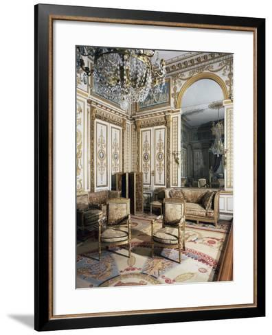 Emperor's Bedroom, Large Apartments of Napoleon I, Palace of Fontainebleau--Framed Art Print