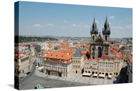 Church of Our Lady before Týn, Old Town Square, Prague, Czech Republic--Stretched Canvas Print