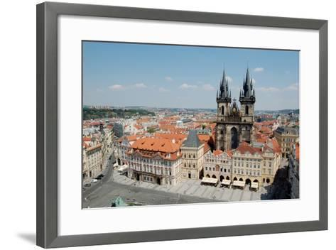 Church of Our Lady before Týn, Old Town Square, Prague, Czech Republic--Framed Art Print