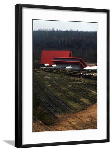 Carreau Wendel Mining Museum, Petite Rosselle, Moselle, France--Framed Art Print