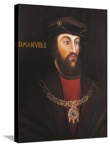 Portrait of Manuel I of Portugal, known as the Fortunato--Stretched Canvas Print