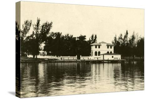 Al Capone''s Home on Palm Island, Miami Beach, C.1928--Stretched Canvas Print