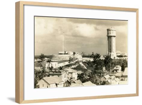 Fort Fincastle and Water Tower, Nassau, Bahamas, C.1955--Framed Art Print