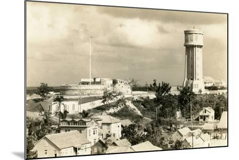 Fort Fincastle and Water Tower, Nassau, Bahamas, C.1955--Mounted Photographic Print