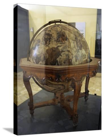 Terrestrial Globe by Cosmographer Vicenzo Coronelli--Stretched Canvas Print