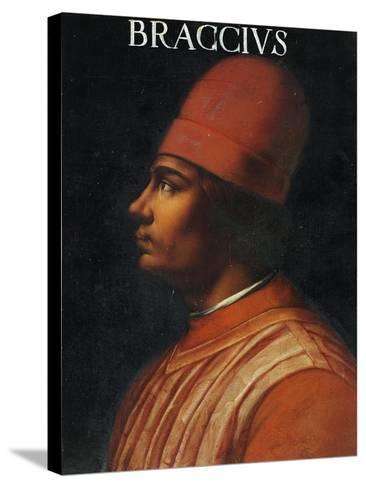 Portrait of Andrea Fortebracci, also known as Braccio Da Montone--Stretched Canvas Print