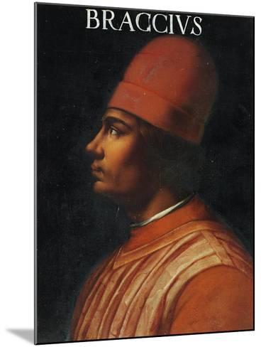Portrait of Andrea Fortebracci, also known as Braccio Da Montone--Mounted Giclee Print