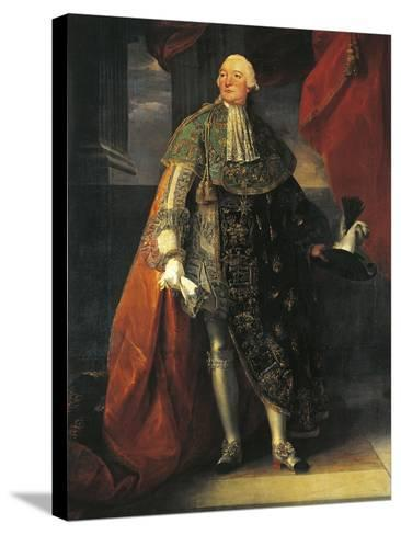 Portrait of Louis Philippe Ii, known as Philippe Egalite--Stretched Canvas Print
