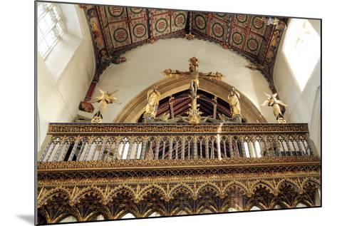 Rood Screen, Loft and Vault, Church of St Peter and St Paul, Eye, Suffolk--Mounted Photographic Print