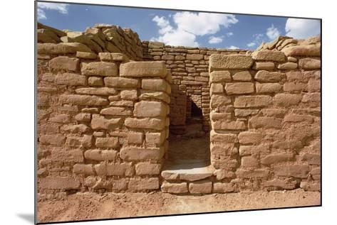 Remains of Pueblo Indian Dwellings, Built 11th-14th Century--Mounted Photographic Print