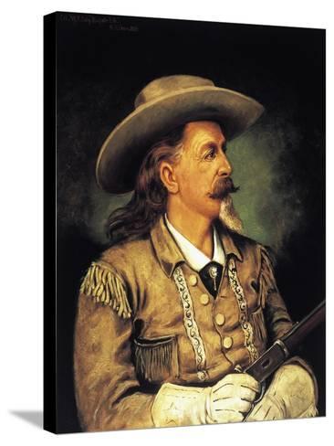 Ritratto Di Buffalo Bill, Pseudonym of William Frederick Cody--Stretched Canvas Print