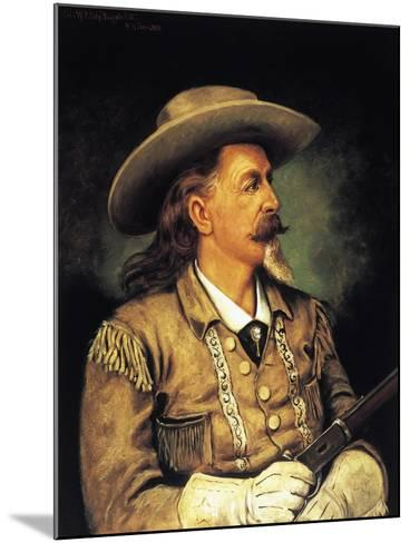Ritratto Di Buffalo Bill, Pseudonym of William Frederick Cody--Mounted Giclee Print