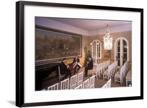 Interior of Villa Bertramka, Prague, Czech Republic--Framed Art Print