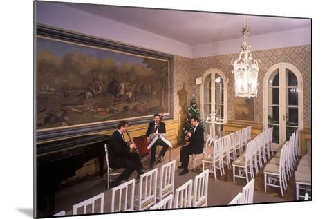 Interior of Villa Bertramka, Prague, Czech Republic--Mounted Photographic Print