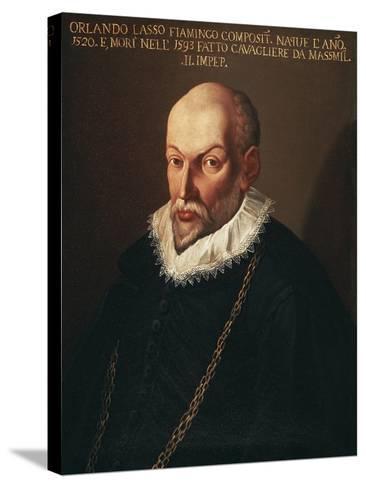 Portrait of Roland De Lassus Called Orlando Di Lasso--Stretched Canvas Print