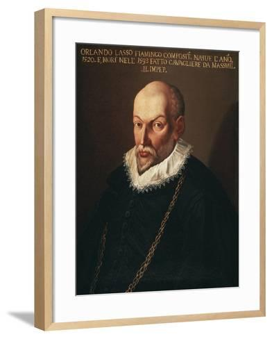 Portrait of Roland De Lassus Called Orlando Di Lasso--Framed Art Print