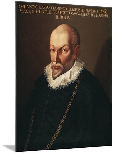 Portrait of Roland De Lassus Called Orlando Di Lasso--Mounted Giclee Print