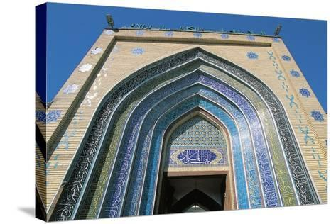 Entrance, Bab Alquiblah, to the Sanctuary Mosque Al-K Dhimiya, Baghdad--Stretched Canvas Print