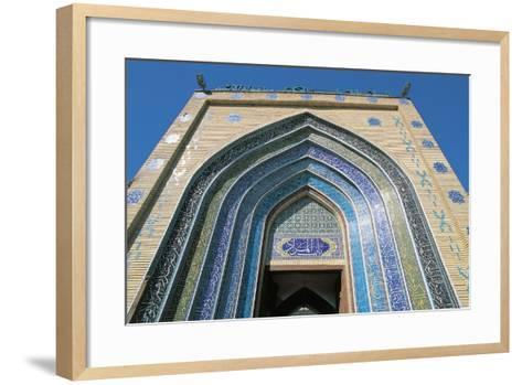 Entrance, Bab Alquiblah, to the Sanctuary Mosque Al-K Dhimiya, Baghdad--Framed Art Print