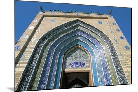 Entrance, Bab Alquiblah, to the Sanctuary Mosque Al-K Dhimiya, Baghdad--Mounted Photographic Print
