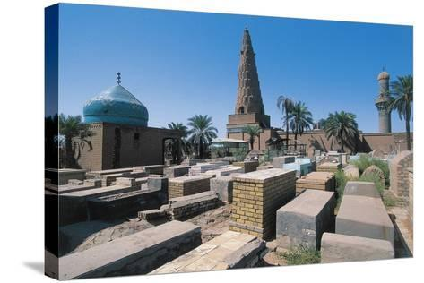Cemetery Near the Sheikh Omar Al-Sahrawardi Shrine, Baghdad, Iraq--Stretched Canvas Print