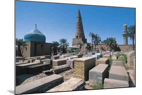 Cemetery Near the Sheikh Omar Al-Sahrawardi Shrine, Baghdad, Iraq--Mounted Photographic Print
