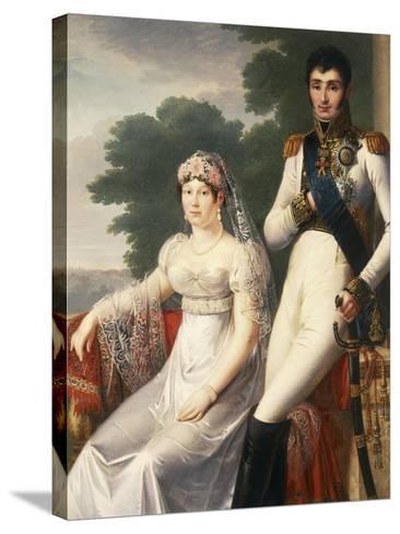 Jerome Bonaparte, Brother of Napoleon Bonaparte, King of Westphalia--Stretched Canvas Print