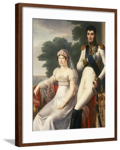 Jerome Bonaparte, Brother of Napoleon Bonaparte, King of Westphalia--Framed Art Print