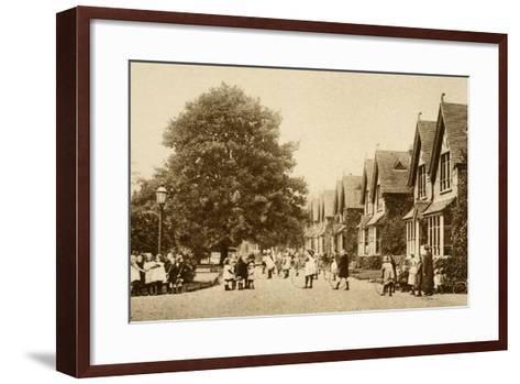 Dr. Barnardo's Institute for Destitute Children, Barkingside--Framed Art Print