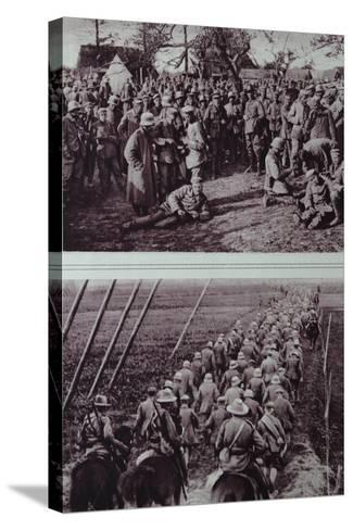 German Prisoners Captured by the Australians, 1914-18--Stretched Canvas Print