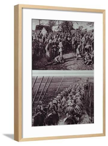 German Prisoners Captured by the Australians, 1914-18--Framed Art Print