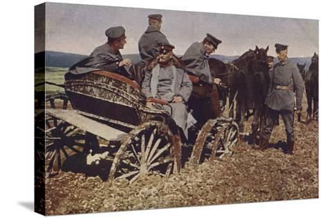 An Example of Polish Roads, World War I, 1914-1916--Stretched Canvas Print